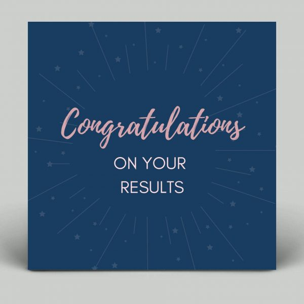Congratulations Card Well Done